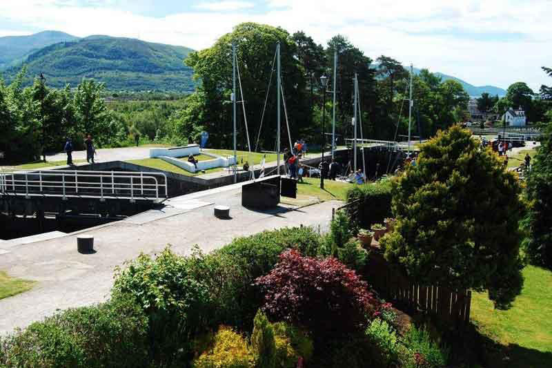 The Locks at Caledonian Canal