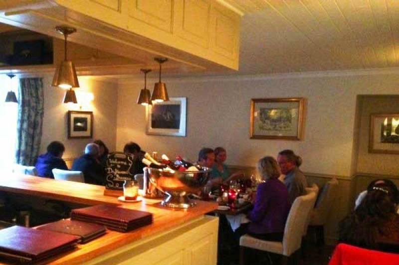 Busy Brasserie at Kilcamb
