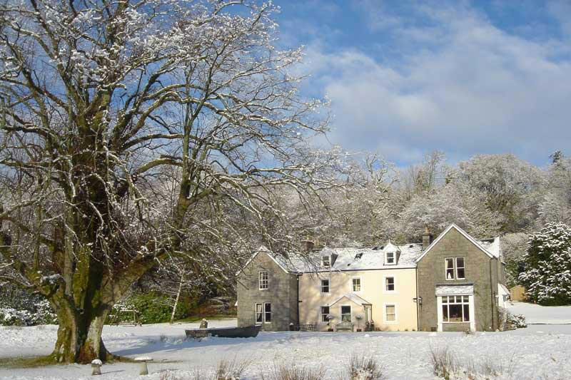 Kilcamb Lodge  in Winter