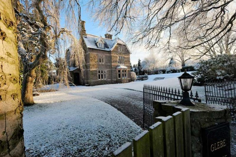 Winter at Glebe House