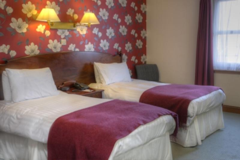 Twin bedroom at Crianlarich