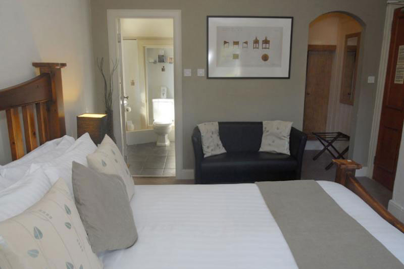Double bedroom at Achray House hotel
