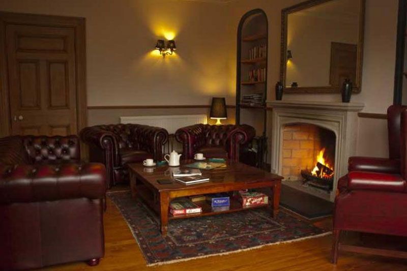 Lounge at Achray House hotel